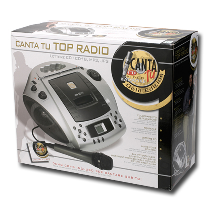 Canta tu top radio giocattoli gig for Canta tu prezzo toys