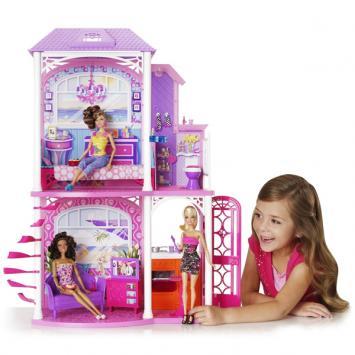 La nuova casa di barbie glam prezzi for Casa barbie prezzi