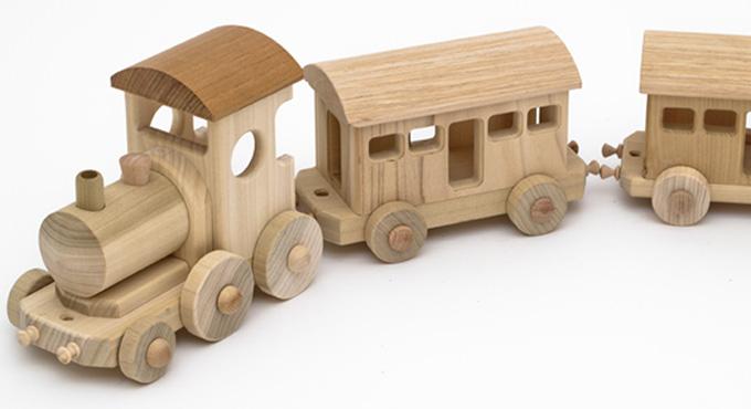 2 - Trenino di legno ikea ...