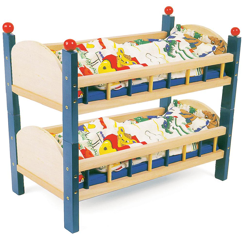 Per bambole letto singolo o castello - Giochi a letto per lei ...
