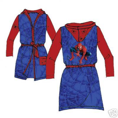 01d4dca1e5 Accappatoio Spiderman 3 Uomo Ragno : Abbigliamento Spiderman