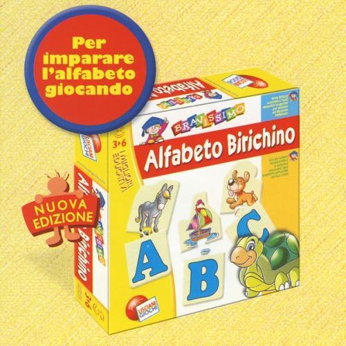 Super Alfabeto Birichino di Lisciani Giochi per imparare le lettere e parole RA14