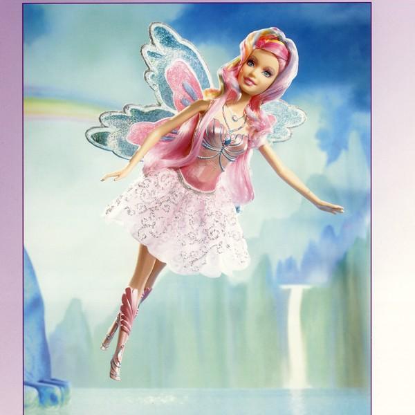 Fata d inverno rosa barbie bambola for Bambole barbie