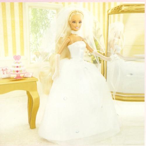Barbie sposa bambola per bambine for Bambole barbie