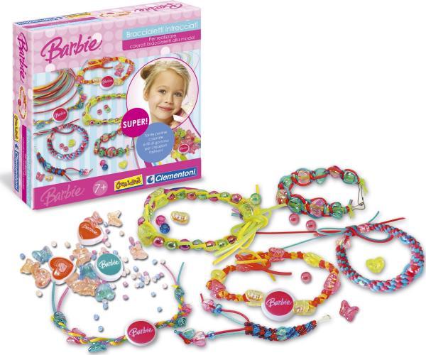 Braccialetti intrecciati Barbie per le Bambine alla moda