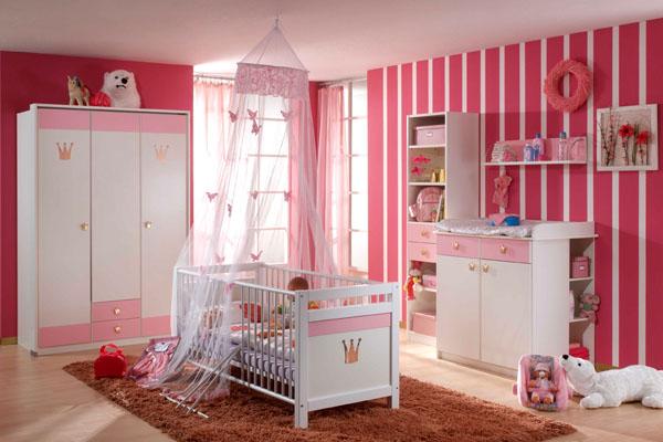 Camerette neonati e bambini arredare la stanzetta con - Babyzimmer poco ...