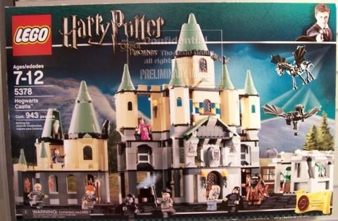 Il Castello Di Harry Potter Lego