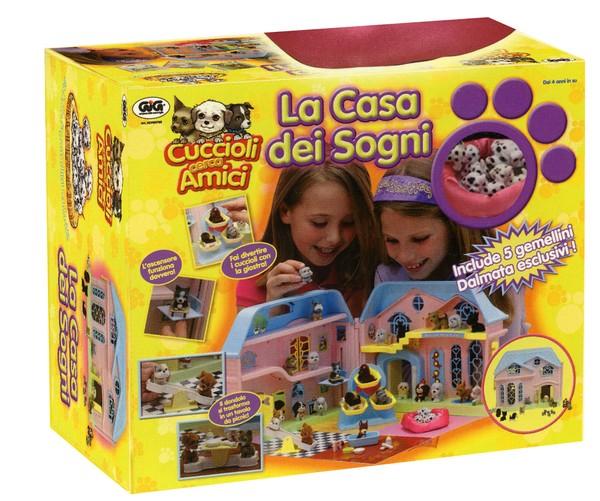 Casa dei sogni cuccioli cerca amici gig giocattoli for Progetta la mia casa dei sogni