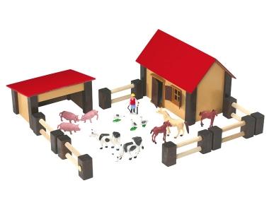 fattoria in legno piccola