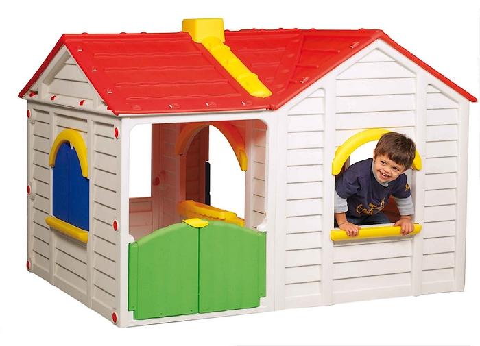 Casetta per esterno gran villa biemme for Casetta da giardino per bambini usata