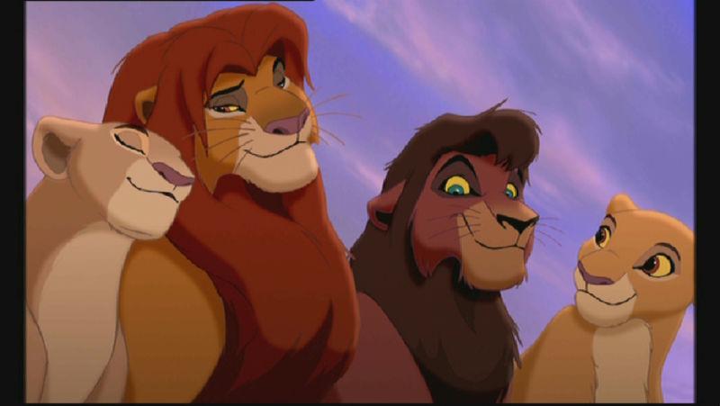 Cartone animato il re leone regno di simba