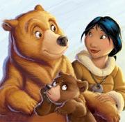 Cartone animato koda fratello orso serie cartoni animati in tv