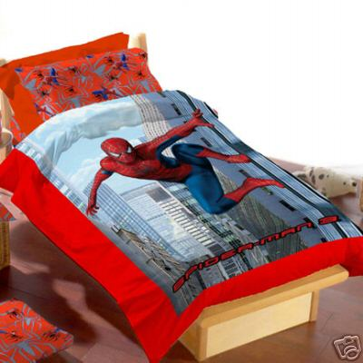 Lenzuola spiderman 3 per il letto - Letto di spiderman ...