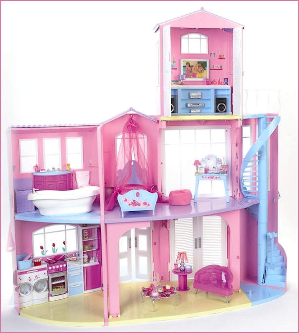la nuova casa dei sogni di barbie di mattel. Black Bedroom Furniture Sets. Home Design Ideas