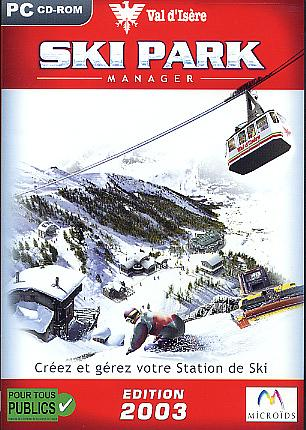 Ski Park Manager videogioco PC