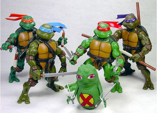 Le tartarughe ninja Action Figures