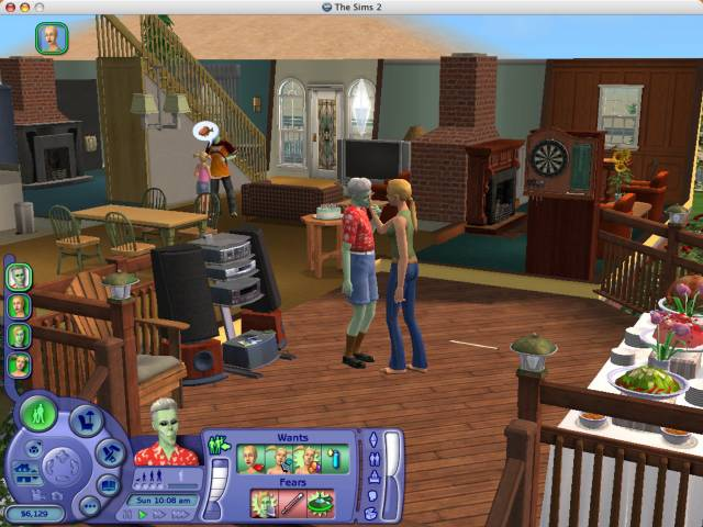 The sims videogioco pc for Case the sims 3 arredate