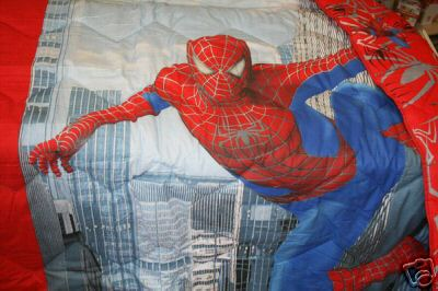 Trapunta spiderman per il letto - Letto di spiderman ...
