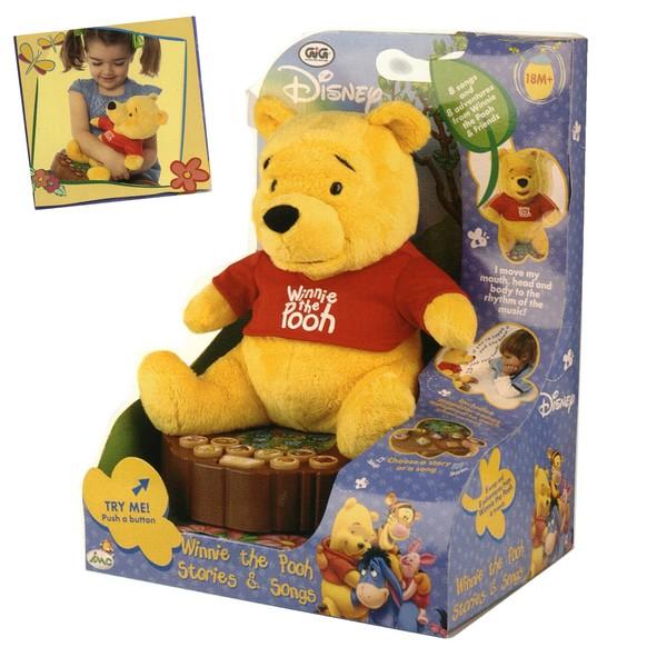 Winnie the pooh canta e racconta gig for Orsetto cantastorie